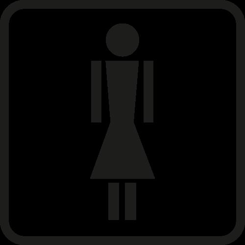 Piktogramm Frau